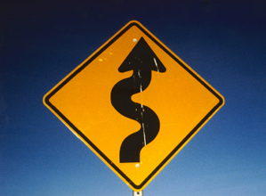 clip art winding_road sign